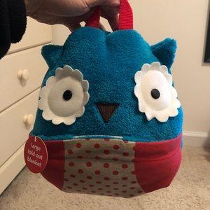Skip hop owl blanket